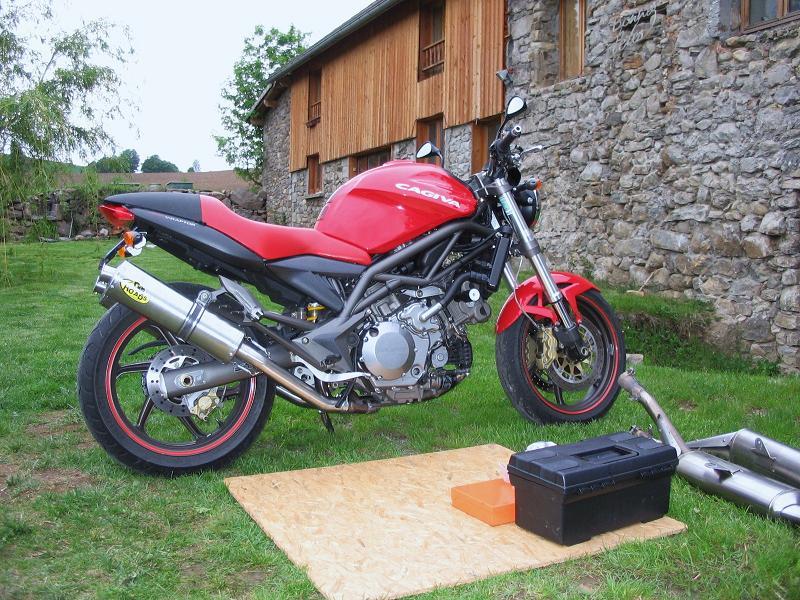 tuning moto 600 diversion